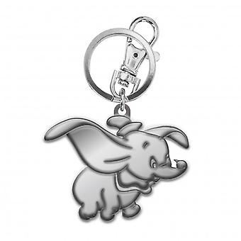 Metal Key Chain - Disney - Dumbo Pewter New 25062