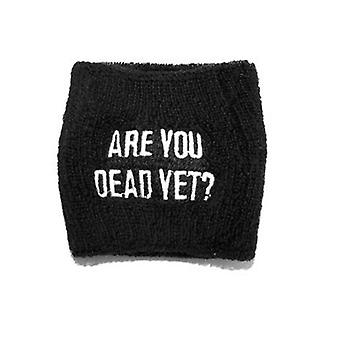 Children Of Bodom Are You Dead Yet Official New Black Sweatband