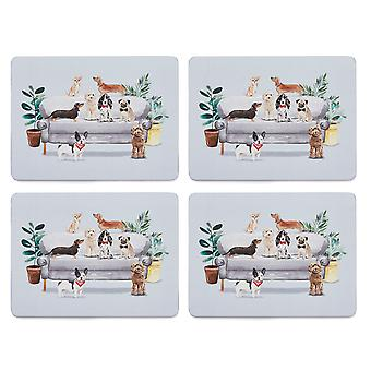 Cooksmart Curious Dogs Zestaw 4 placemats