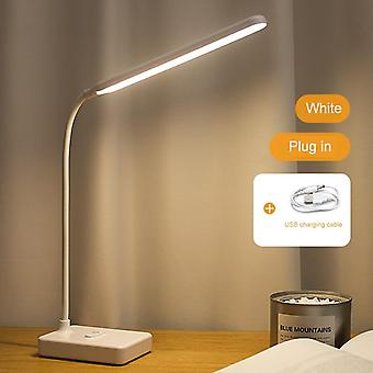 Desk Lamp Touch - Table Lamps For Living Room Foldable Dimmable Eye Protection Study Lamp