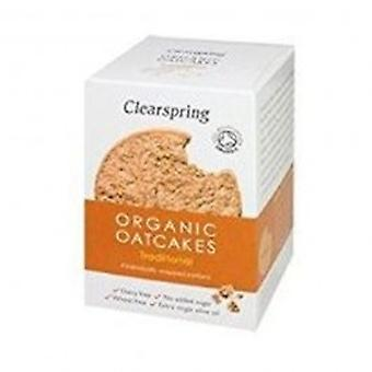 Clearspring - Organic Oatcakes - Traditional 200g