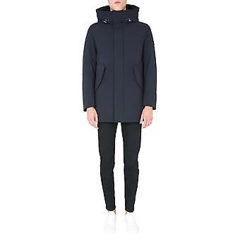 Woolrich Woou0268mrut0102100 Men's Black Nylon Outerwear Jacket