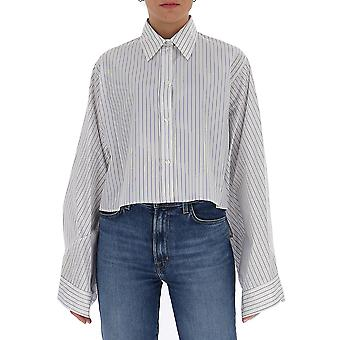 Mm6 Maison Margiela S32dl0262s53088002f Women's White Cotton Shirt