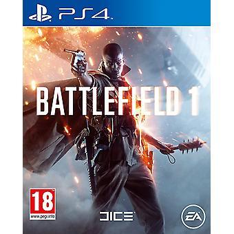 Battlefield 1 JEU PS4 (FR/NL Box avec multi langage dans le jeu)