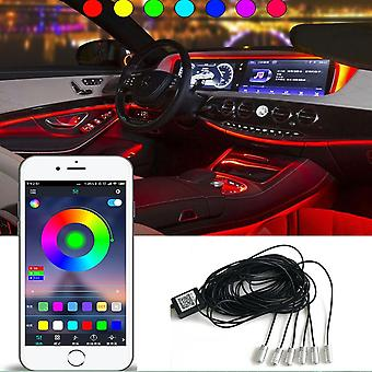 Wireless Remote Control & Mobile Phone App Car Cold Light