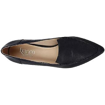 Franco Sarto Womens Starland Couro Round Toe Loafers