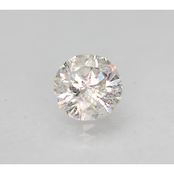Zertifiziert 0.77 Karat F SI1 Runde Brilliant Enhanced Natural Loose Diamond 5.76mm
