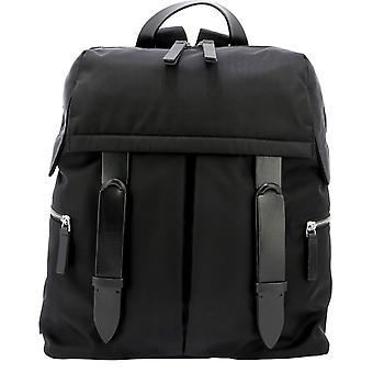 Orciani Nbe001ecolnero Men's Black Nylon Backpack