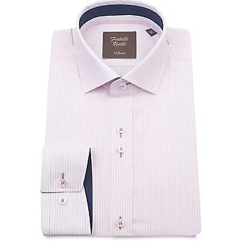 Fratelli Uniti Pin Stripe Pure Cotton Men's Camicia