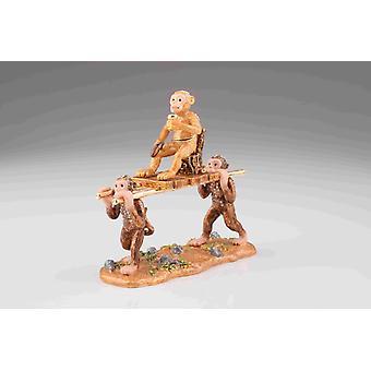 Monkeys Carrying Monkey King-trinket Box