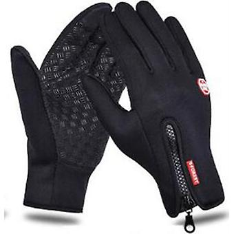 Classic Touch Screen Windproof Horse Riding Gloves