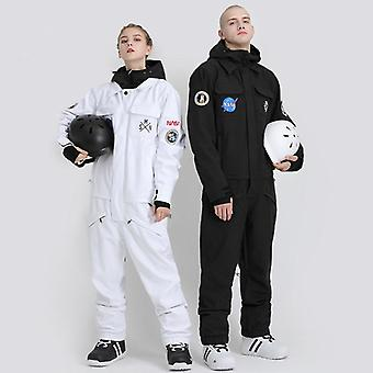 Couple Suit Men Women Snowboard Set Jacket Pants Trousers