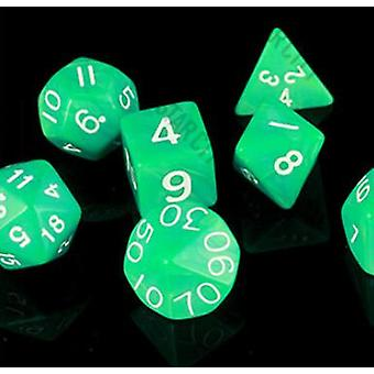 Multi-sided Dice Set Colorful Accessories For Board Game Rpg Dungeons And