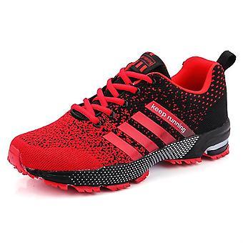 Ademende, comfortabele outdoor running / sportschoenen lichtgewicht sneakers / vrouwen