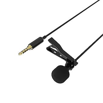 Sabrent lavalier/lapel clip-on omnidirectional condenser microphone for iphone & android smartphones