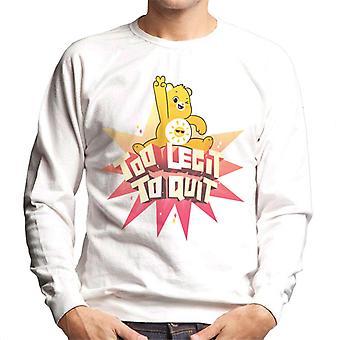 Care Bears låse opp den magiske for legit å slutte menn's Sweatshirt