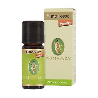 Red Thyme Demeter Organic Essential Oil 10 ml of essential oil