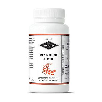 Red rice + non-organic q10 120 capsules of 630mg