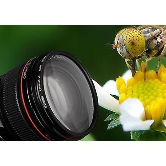 Macro Close-up Lens Filter -verre optique pour l'appareil photo