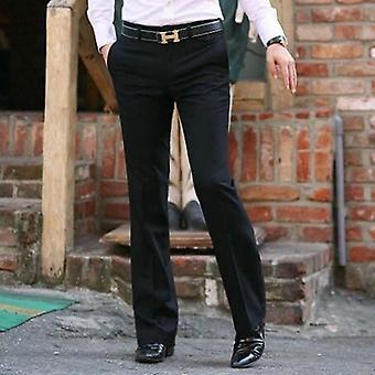 Modis Evazat G Pantaloni, Masculin de vară Straight Suit Pant, Slaitsmal