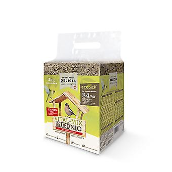 FRUNOL DELICIA® Delicia® Vital-Mix Picknic with mealworms vacuum, 3 kg