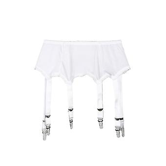 Metal Buckles Straps Garter Belt Sexy Lingerie Suspender Solid Elastic