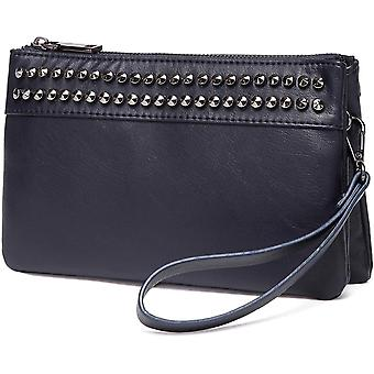 Vaschy Soft Faux Leather Clutch for Women Wristlet ,Crossbody Bag Smartphone Bag