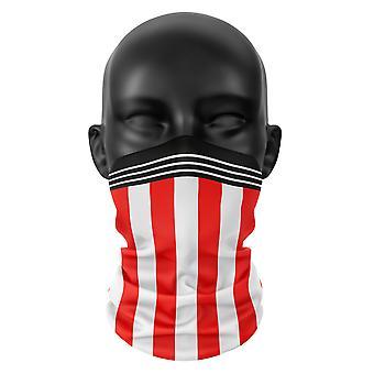 Sheffield Football Club Farben Snood Gesicht Maske Kopf Schal Hals Buff Kopfbedeckung Tube