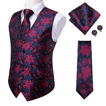 Men's Vests/tie Business Formal Dresses Slim Waistcoat