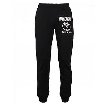 Moschino Couture Milano Logo Slim Fit Joggers