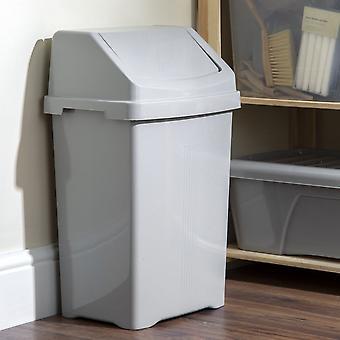 Wham Storage 50 literes otthoni upcycled műanyag swing bin