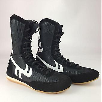 Boxing Shoes Men Women Training Sport Sneakers Professional Martial Art Mma