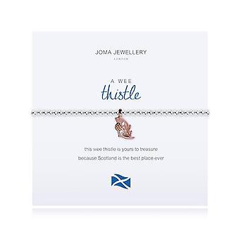 Joma Smykker En Wee Thistle Armbånd Skotsk 1816