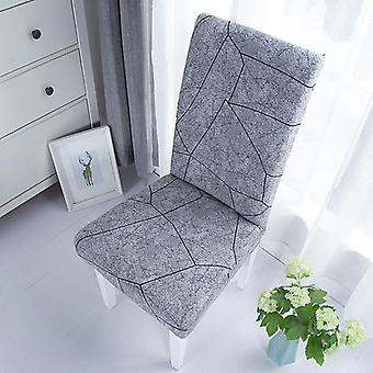 Plain Dining Chair Cover Spandex Elastic Chair Slipcover Case Stretch Seat