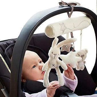 Baby Bed Safety Seat Hand Bell Multifunctional Plush Toy (with Bb Bell)