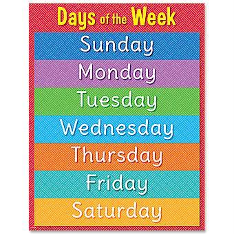 Tage der Woche Diagramm - Ctp8613
