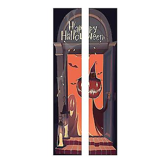 Halloween Decoration Decal Self-Adhesive Wall Stickers