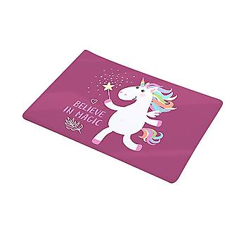 Non-slip mats, bathroom and kitchen water-absorbing door mats, cute cartoon soft carpets at home