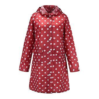 Jaqueta de chuva longa onda