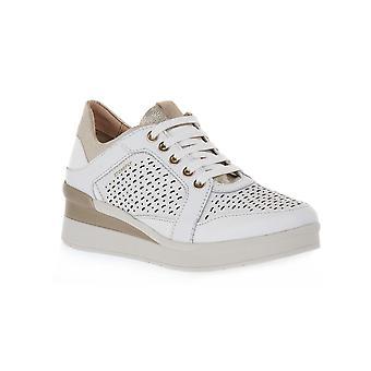 Stonefly cream nappa shoes