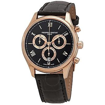 Frederique Constant Classics Chronograph Black Dial Men's Watch FC-292MBG5B4