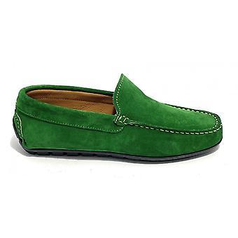 Men's Tubular Moccastic Elite Green Suede Us21el13