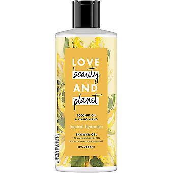 Gerui Coconut Oil and Ylang Ylang Vegan Shower Gel, Tropical Hydration, Nourishing Freshness, 4