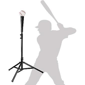 DZK Baseball Softball Batting Tee Adjustable Rubber Batting Tee Training Tripod Baseball Practice