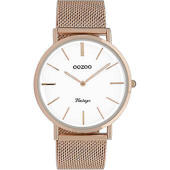 Oozoo - Ladies watch - C9917 - rose gold white