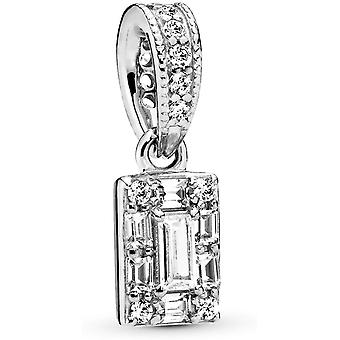 Pandora Ice Cube Pendant In Sterling Silver