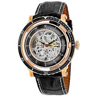 Christian Van Sant Men's Dome Silver Dial Watch - CV0749