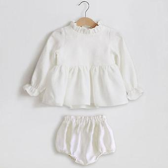 Baby Clothes Sets, Spring Blouse + Shorts Suit