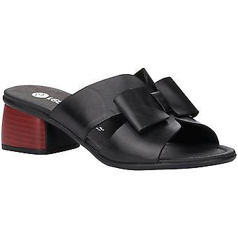 Zwarte Casual Middle Heel Slippers