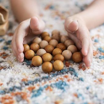 2 Tone Wooden Balls